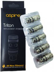 Aspire Triton Atomizer head - 5 Pack