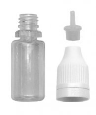 Empty Bottle 10 ml PET with Needle Dropper and Childproof Cap