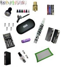 E-Cigarette Accessories and Replacement Parts