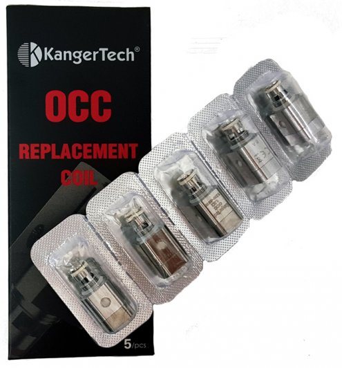 Kanger Subtank Mini Vertical Coil Atm Head - Genuine (5 Pack)