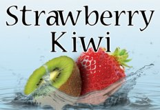 Strawberry Kiwi Flavor E-Liquid