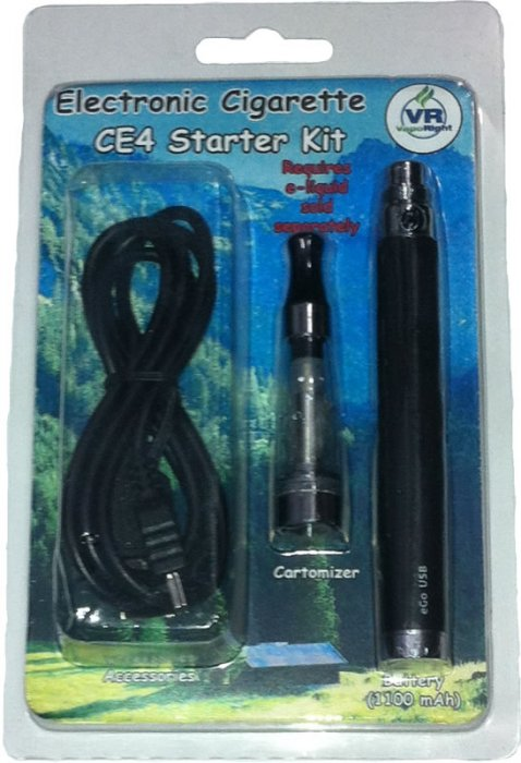 CE4 Starter Kit with 1100 mAh Pass-through