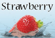 Strawberry Flavor E-Liquid