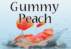 Gummy Peach Flavor E-Liquid