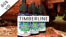 Timberline E-liquid - 80% VG