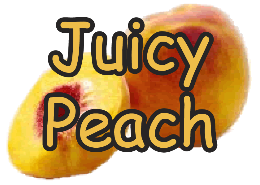 Juicy Peach Flavor E-Liquid