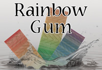 Rainbow Gum - Silver Cloud Edition