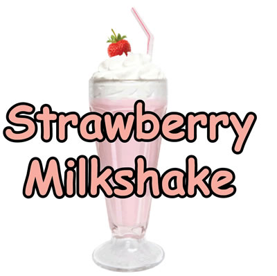 Strawberry Milkshake Flavor E-Liquid