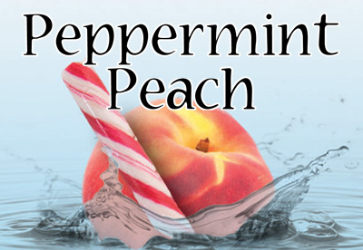 Peppermint Peach Flavor E-Liquid